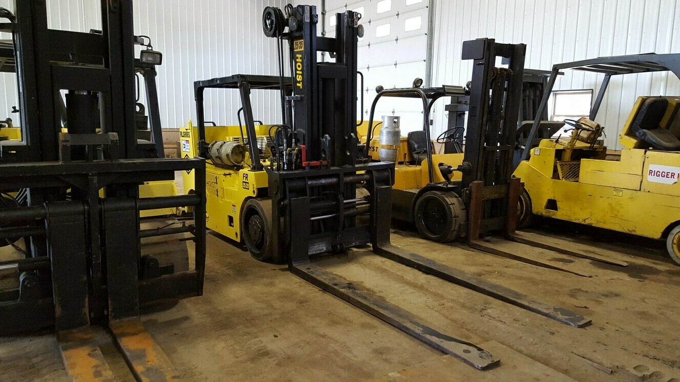 12.5 Ton 17.5 Ton Hoist Forklift For Sale 25/35
