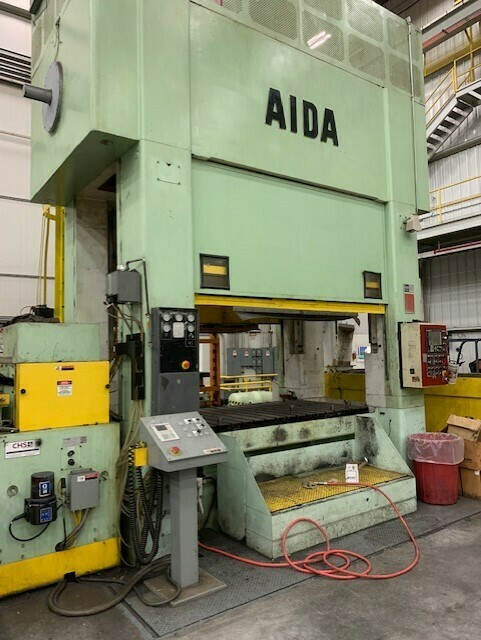 440 Ton Press For Sale Aida Straight Side Link Motion Press