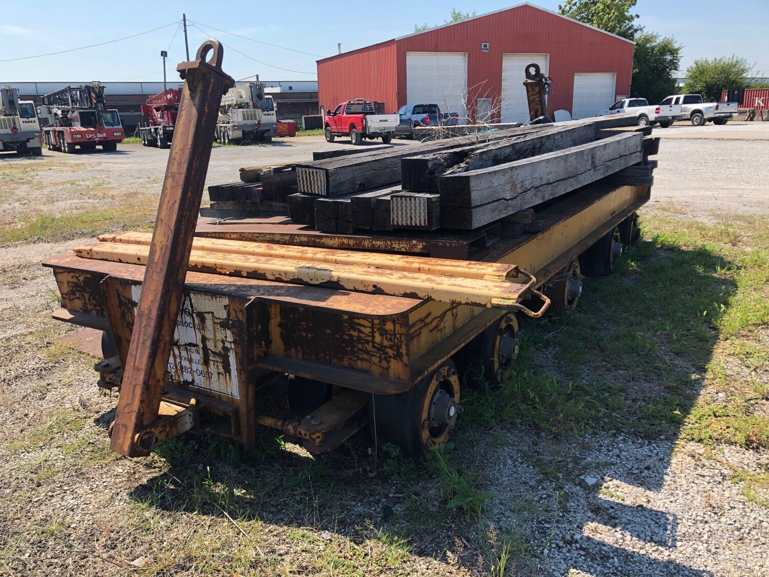 135 Ton Capacity Die Cart For Sale