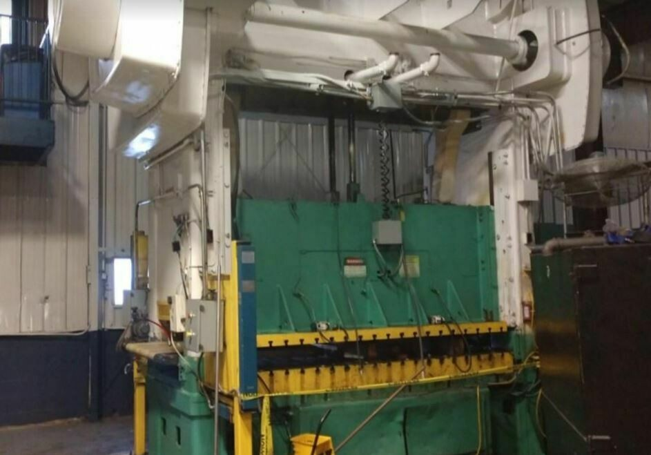 330 Ton Press For Sale Niagara Straight Side Press