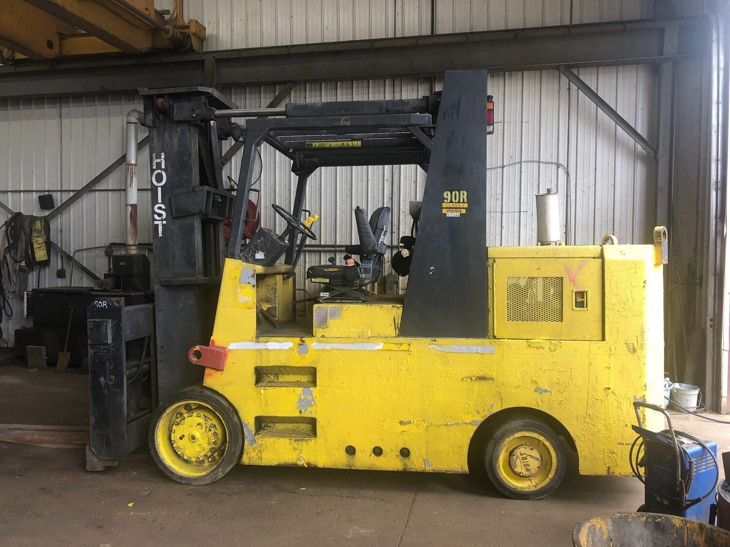 16 Ton Hoist Forklift For Sale
