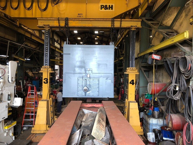 200 Ton Capacity J & R Lift -n- Lock Gantry For Sale