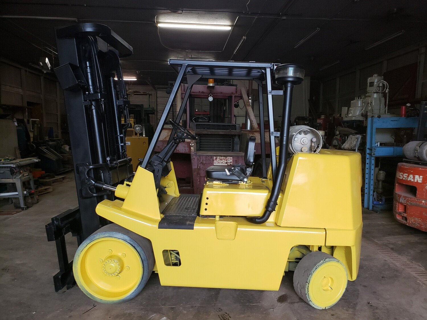 15,500 lb Capacity Yale-Hyster Forklift For Sale 7.75 Ton
