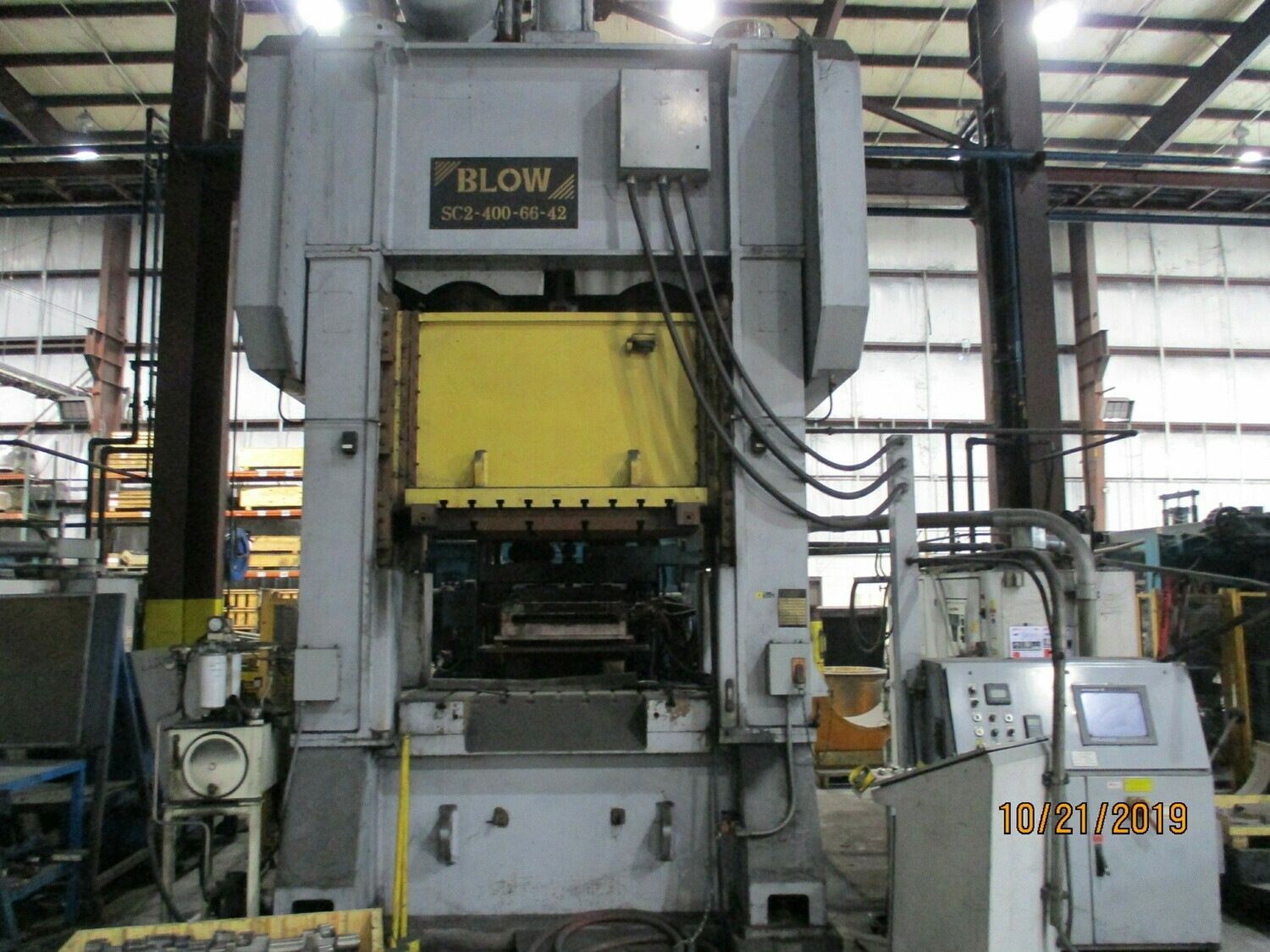 400 Ton Press For Sale Blow Straight Side Press