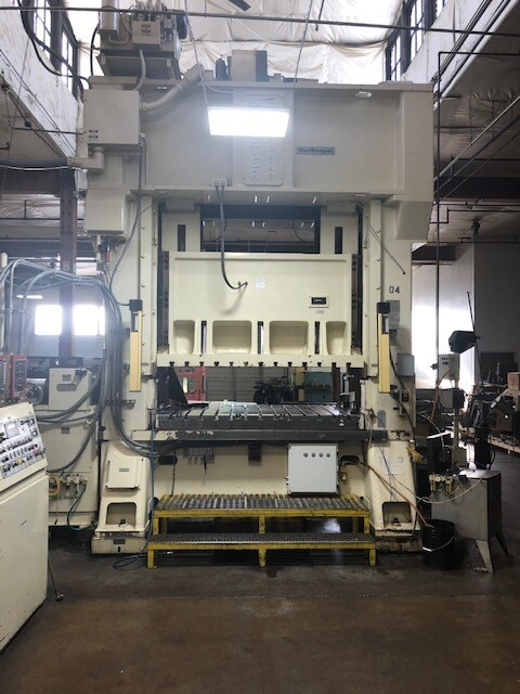 300 Ton Press For Sale Minster Straight Side Press