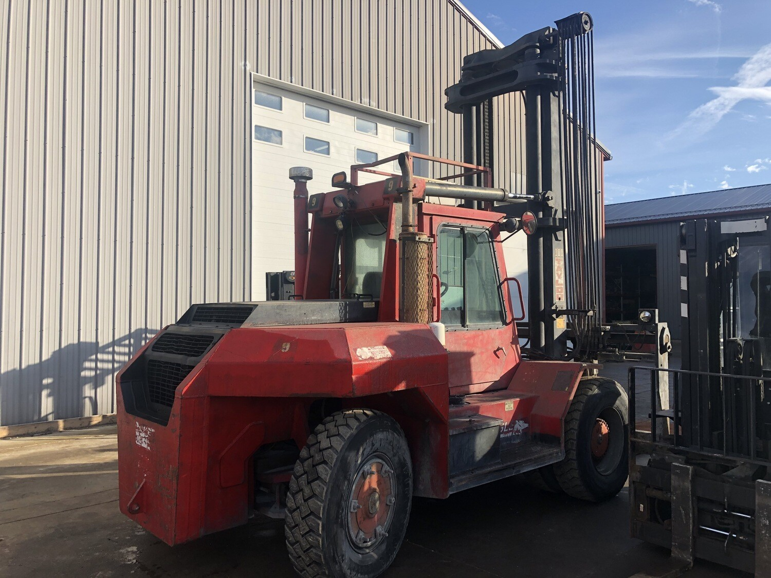 15 Ton Taylor Forklift For Sale - Big Red