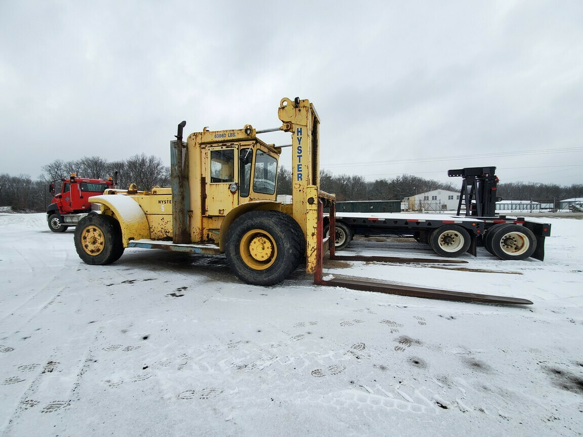 20+ Ton Hyster Forklift H460B For Sale