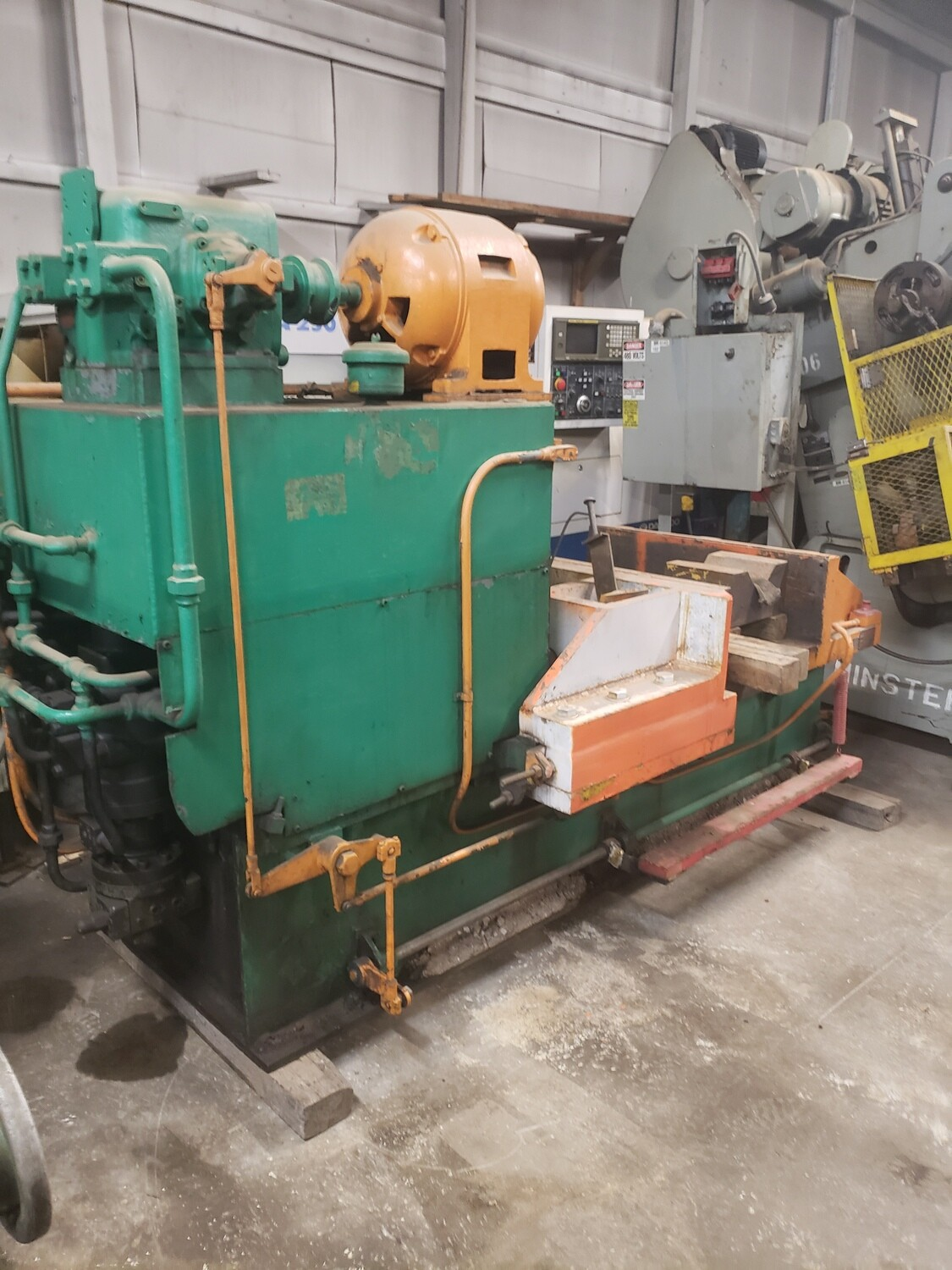 200 Ton Press For Sale Williams & White Hydraulic Bulldozer Press