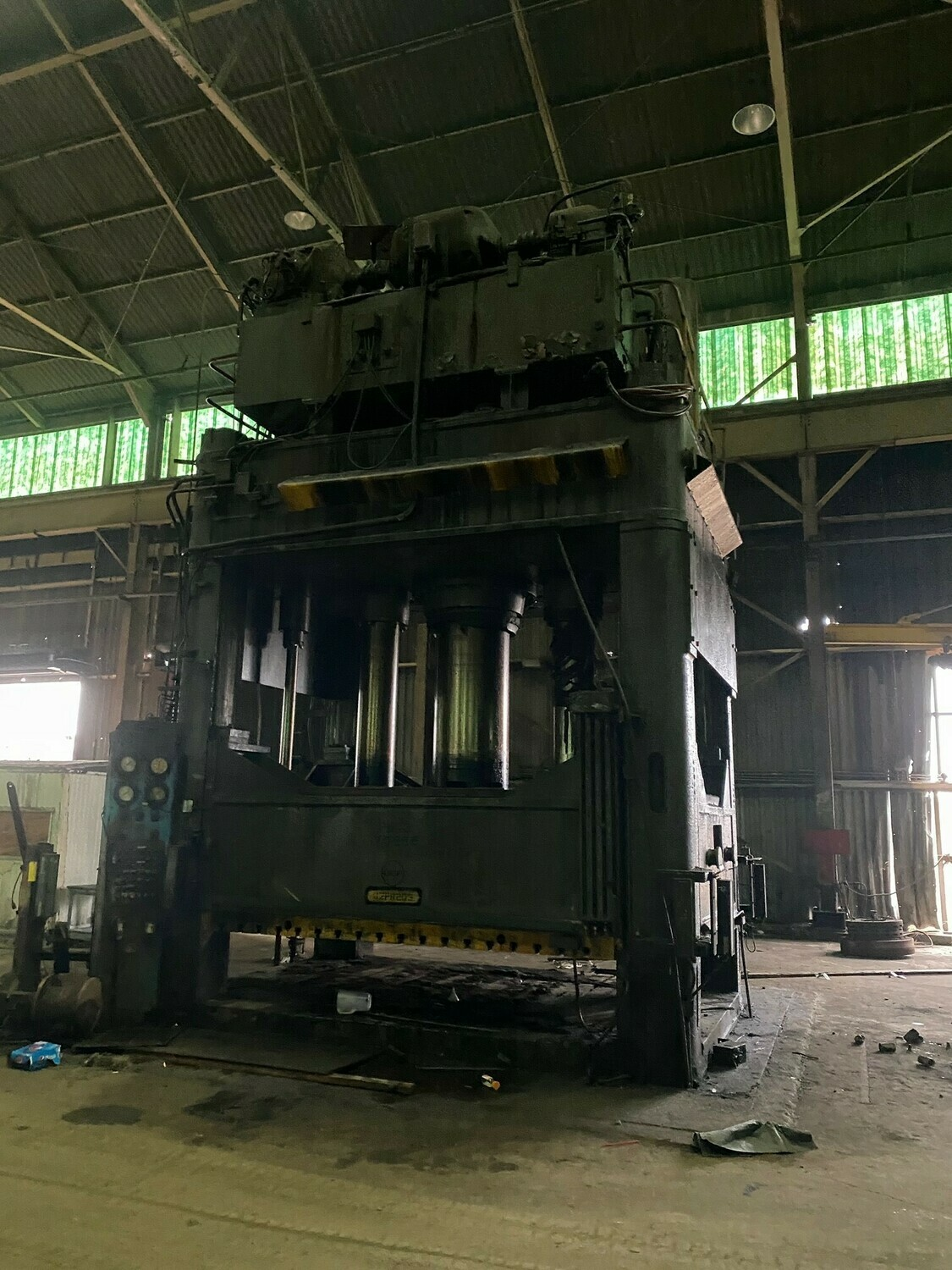 1500 Ton Press For Sale Erie Straight Side Down-Acting Hydraulic Press