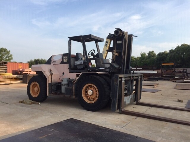 40,000 lb Capacity Royal Air Tire Forklift For Sale 20 Ton
