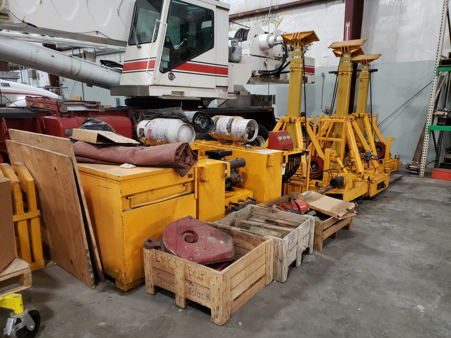 160 Ton Lift Systems 4-Point Gantry System For Sale