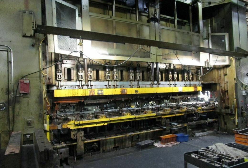 2,000 Ton Capacity Danly Straight Side Press For Sale