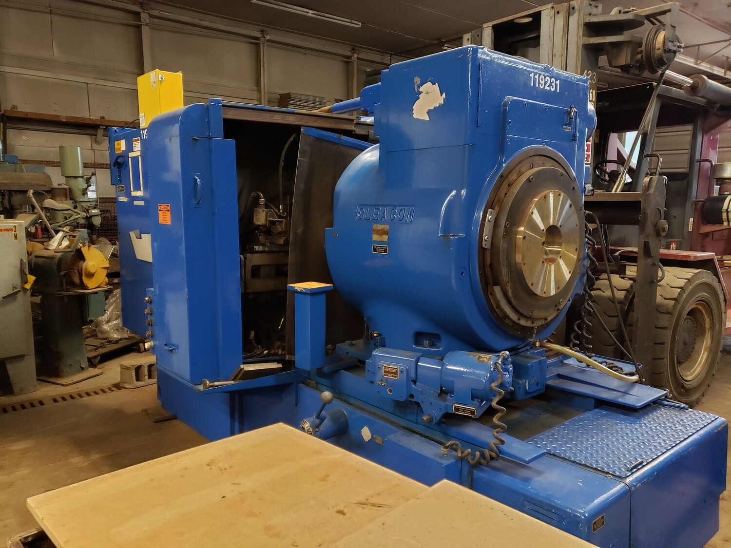 Gleason Curvic Coupling Grinder For Sale