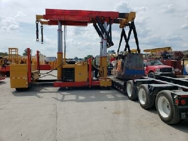 75 Ton Riggers Mfg Tri Lifter For Sale