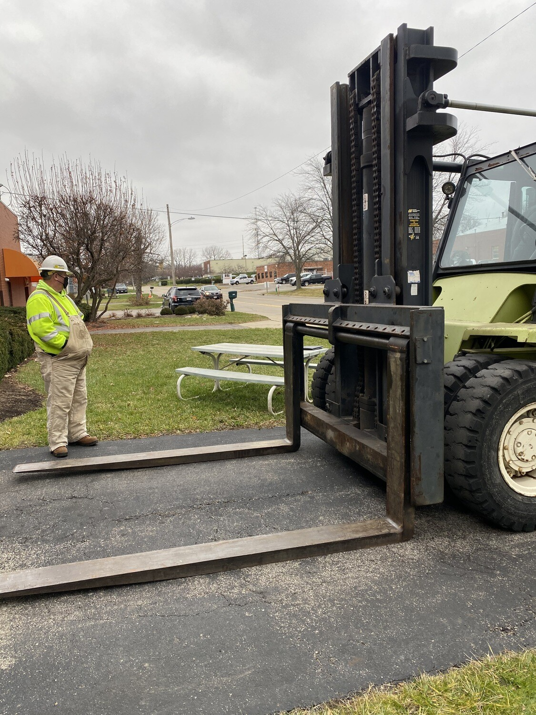 35,000 lb Clark Air-Tire Forklift For Sale