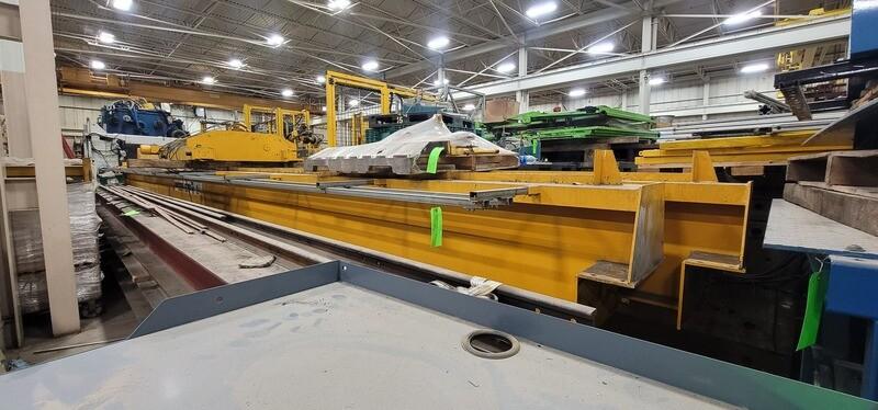 15 Ton Crane and Service Corp Top-Running Overhead Bridge Crane For Sale