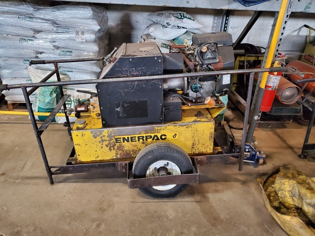 Enerpac 8,000 Series Gasoline Pumps For Sale (2 Available)