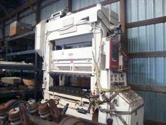 75 Ton Bliss High Speed Straight Side Metal Punch Press For Sale