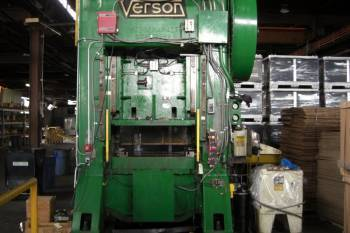 300 Ton Verson Straight Side Mechanical Metal Punch Press For Sale