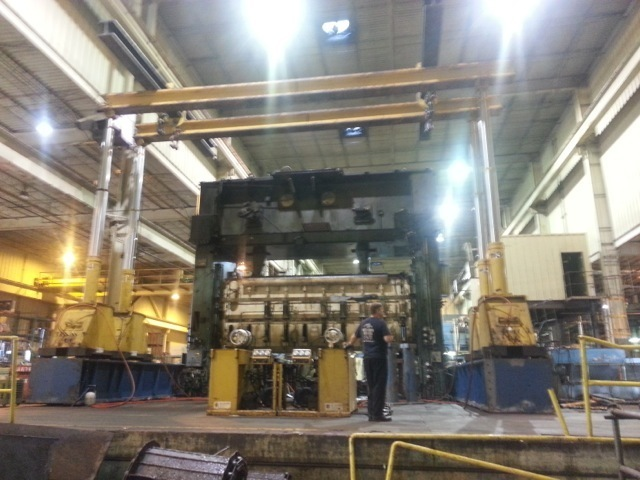 200 Ton Capacity Lift Systems Hydraulic Gantry Crane For Sale