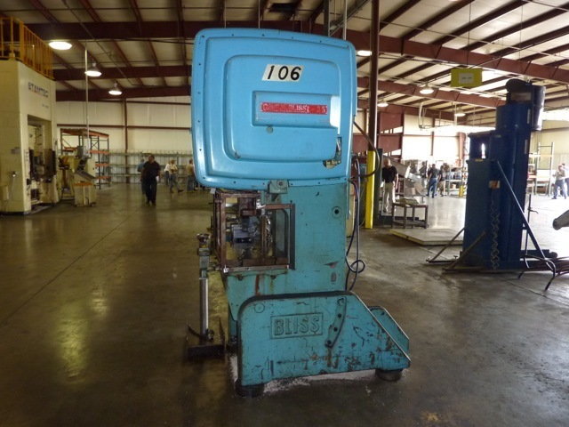 35 Ton Bliss O.B.I. Press For Sale