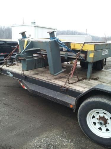 Stewart Die Cart For Sale 50,000lb