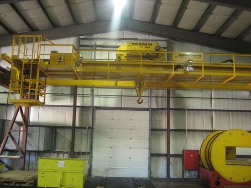 25 Ton Capacity Control King Overhead Bridge Crane For Sale