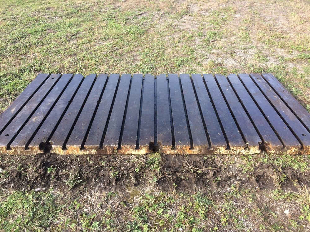 """Bolster Plate – 120"""" x 60"""" x 4"""" (Four Available) For Sale!"""
