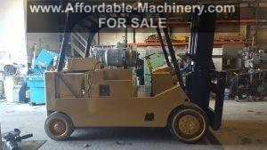 Forklift Value Estimate Appraisal