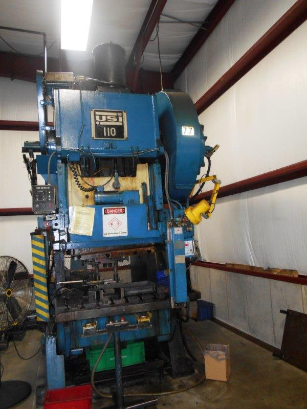 110 Ton Press For Sale Clearing Press