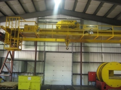 25 Ton Capacity Control King Overhead Bridge Crane For Sale