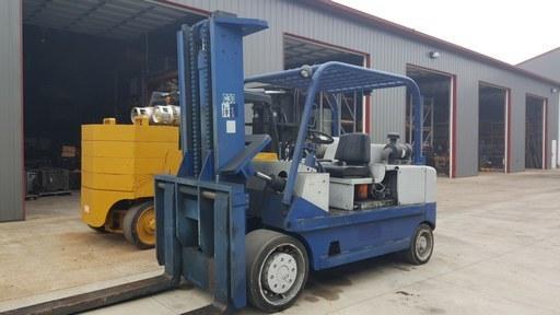 30,000lb CAT Forklift For Sale - Used T300 Fork Truck 15 Ton