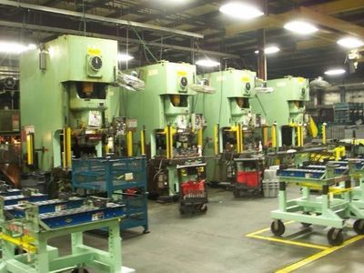 165 Ton Aida Single-Point Gap Frame Presses For Sale (4 Available)