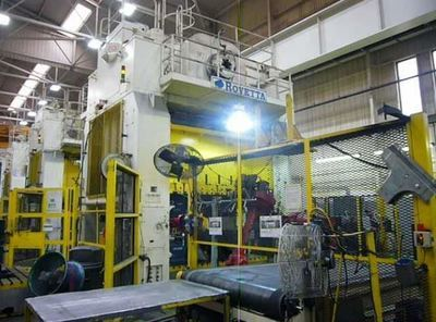 700 Ton Press Line For Sale Rovetta Single-Action Press