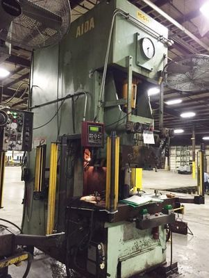 ​220 Ton Press For Sale Aida Single-Point Gap Press