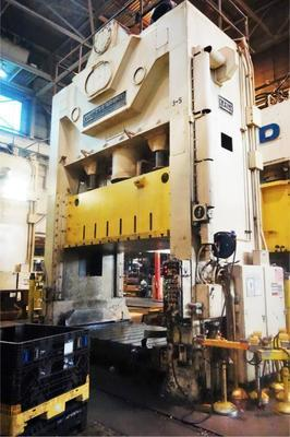 600 Ton Press For Sale USI Clearing Straight Side Press