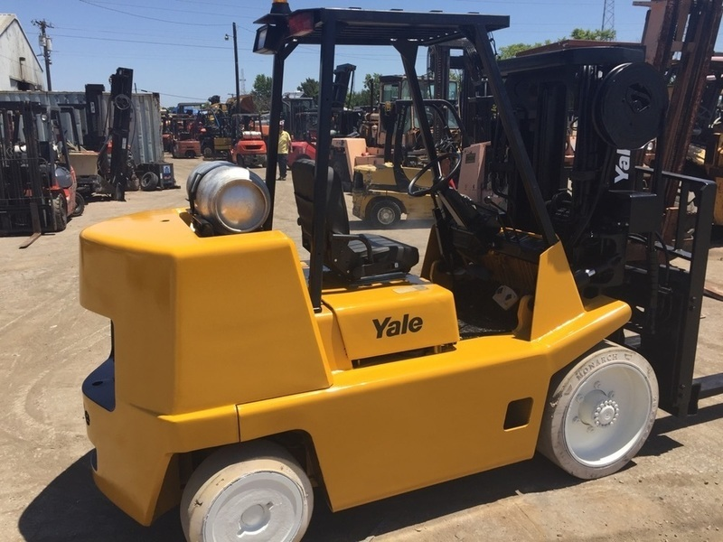 15,500lb Yale Forklift For Sale 7.75 Ton