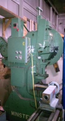 32 Ton Minster No. 4 O.B.I. Press For Sale