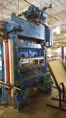 60 Ton Capacity Bliss High Speed Press For Sale