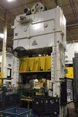 350 Ton Clearing Straight Side Press For Sale