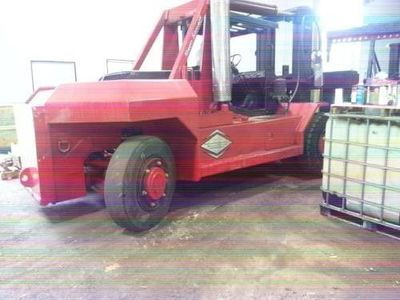 80,000lb Bristol Riggers Forklift Truck For Sale 40 Ton
