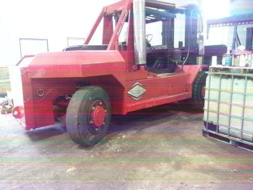 80,000lb Bristol Riggers Forklift Truck For Sale 40 Ton