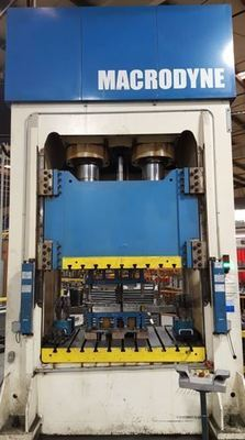 400 Ton Macrodyne Hydraulic Punch Press (Two Available) For Sale