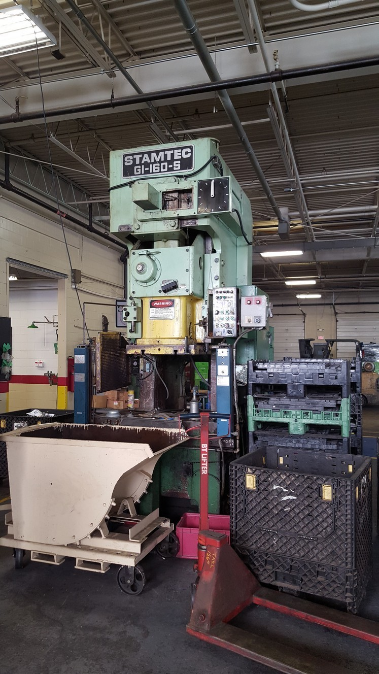 160 Ton Press For Sale Stamtec Press