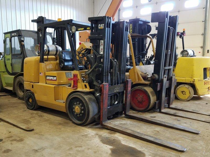 15,500lb CAT Forklift For Sale 7.75 Ton