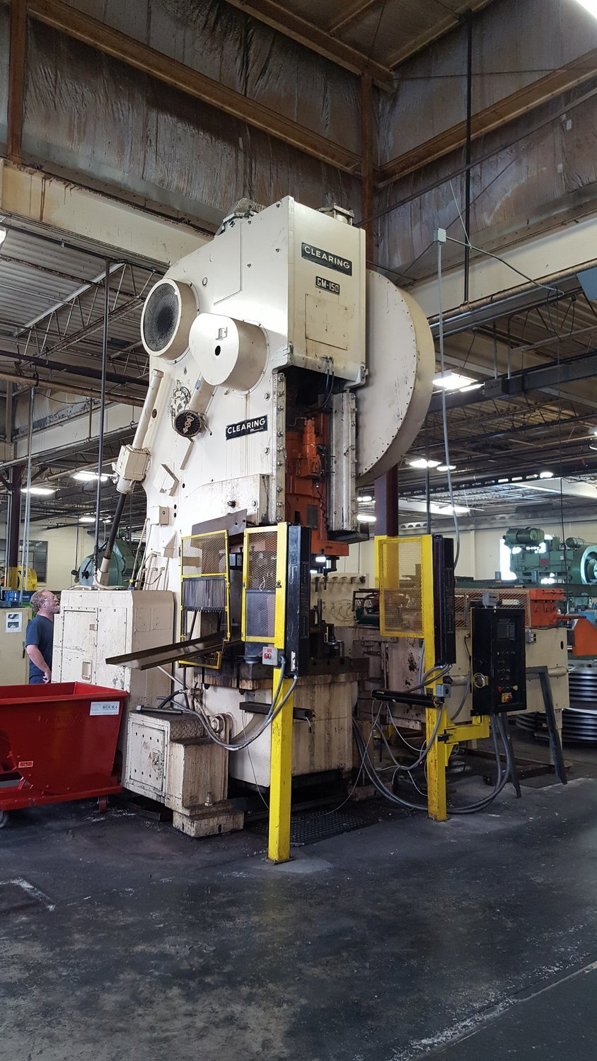 150 Ton Press For Sale Clearing OBI Press