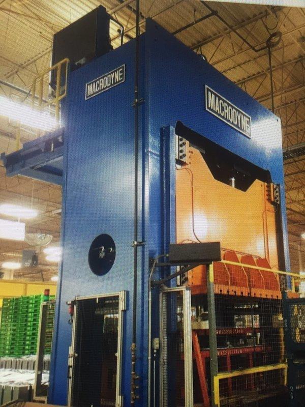 400 Ton Press For Sale Macrodyne Press