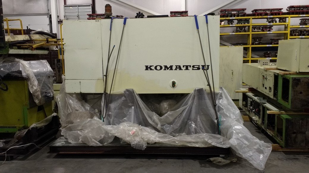 300 Ton Press For Sale Komatsu Straight Side Press