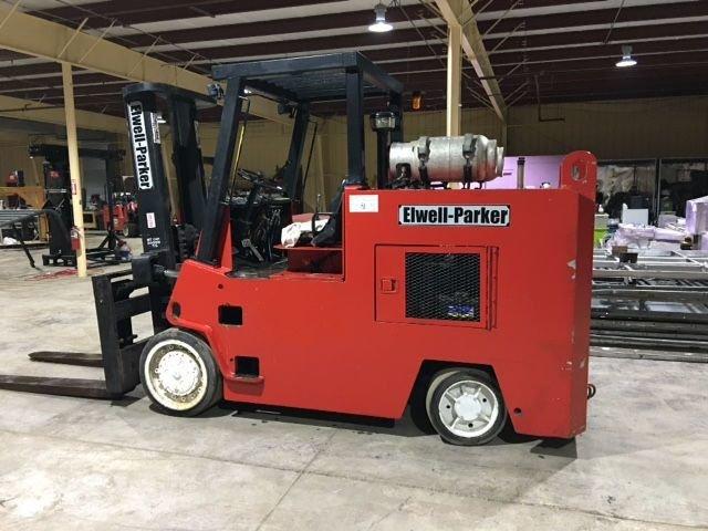 30,000lb Elwell Parker Forklift For Sale 15 Ton