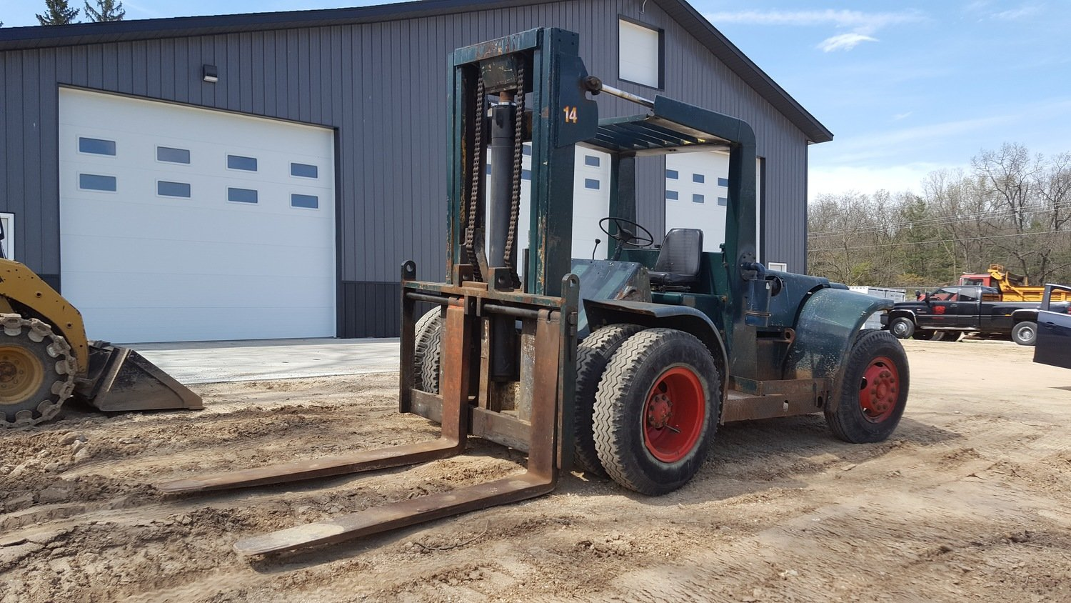 10 Ton+ Forklift For Sale Hyster H225